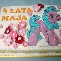 Konik Ponny dla Majii #Pony #konik #tort #urodziny