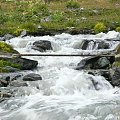 4.08.2007 Droga zejściowa, górski potok. #góry #potok