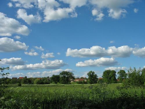 #krajobraz #niebo #łąka #Lubsko