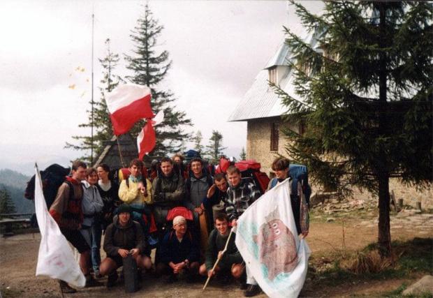 """36 """"Elefantowy"""" Rajd PK - Rytro 1998 - 02.05.1998 - Przehyba w Beskidzie Sądeckim #wspomnienia #studia"""