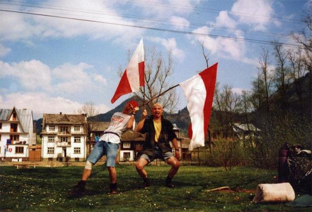 """36 """"Elefantowy"""" Rajd PK - Rytro 1998 - 30.04.1998 - Sromowce Niżne #wspomnienia #studia"""