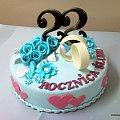 22 Rocznica ślubu #Rocznica #tort