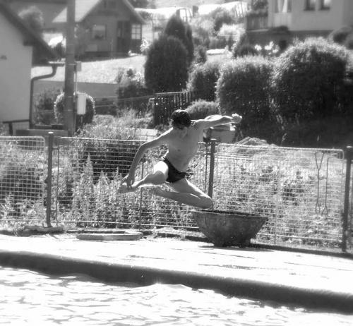 Skok do wody - Czechy. :)