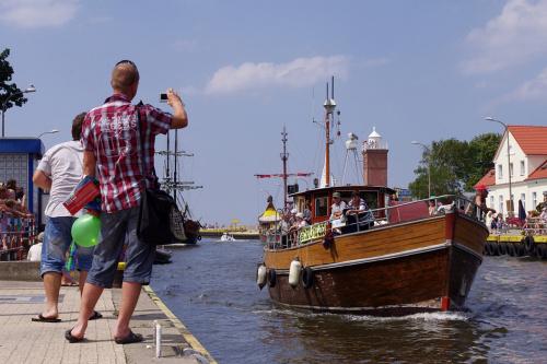 każdy chce mieć swoją widokówkę :) #Darłówko #morze #Bałtyk #wakacje