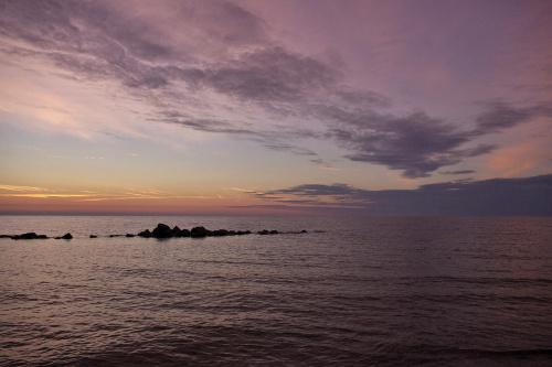 #Darłówko #morze #Bałtyk #niebo #wieczór