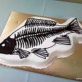 Torcik dla wędkarza !!!!!! #ryba #tort #ość #wędkowanie #rybołówstwo