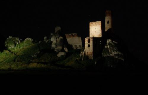 Olsztyn nocą
