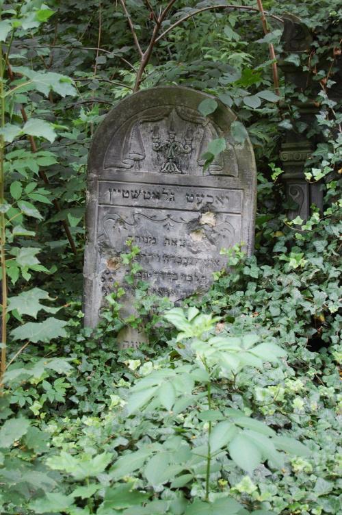 no to na wasze życzenie kolejne z cmentarza żydowskiego w Łodzi