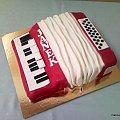 Akordeon dla Janka #akordeon #muzyka #urodziny #tort