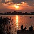 #fotoel #molo #lato #relaks #woda #jezioro #ZachódSłońca