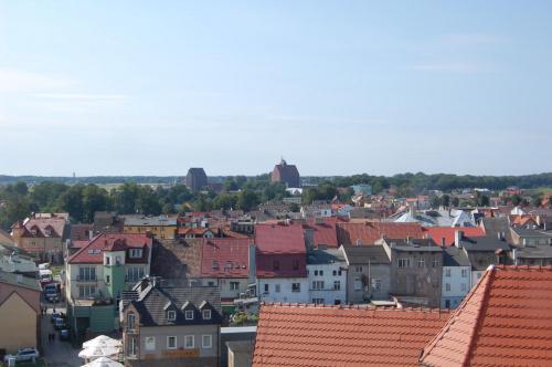 Zamek Książąt Pomorskich w Darłowie...:)Widok z wieży...:)))