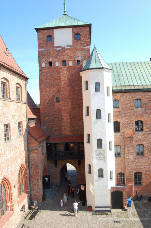 Zamek Książąt Pomorskich w Darłowie...:)