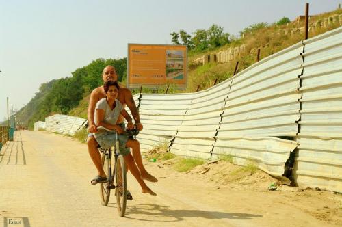 Zakochana para....:) #para #małżeństwo #rower