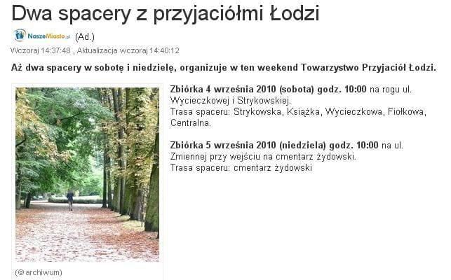 w internecie 2010