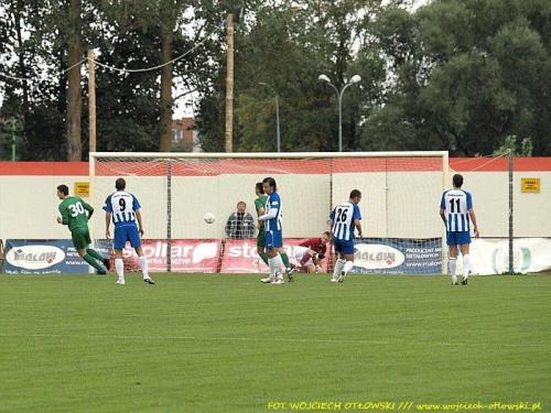 Właśnie Adam Gmitrzuk strzelił z karnego na 0:1 #mecz #IILiga #WigrySuwałki #ŚwitNowyDwórMazowiecki
