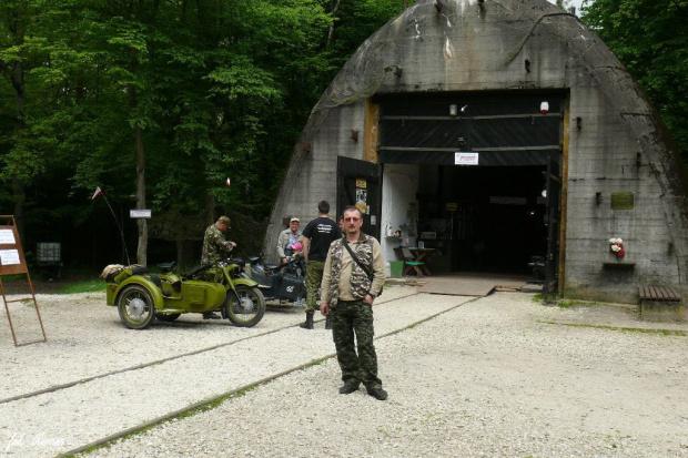 Konewka - schron kolejowy #konewka #schron #remes