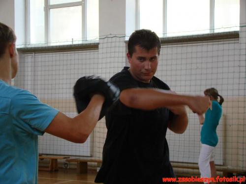 I jeszcze kilka zdjęć z samoobrony. Pierwszoklasiści w akcji #Sobieszyn #Brzozowa