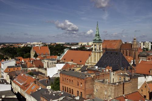 Toruń- widok z wieży kościoła św. Janów #Toruń