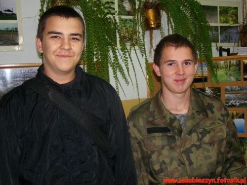 Za mundurem panny sznurem #Sobieszyn #Brzozowa #KlasaWojskowa