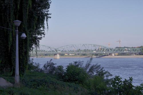 Toruń- most drogowy przez Wisłę #Wisła #most #Toruń