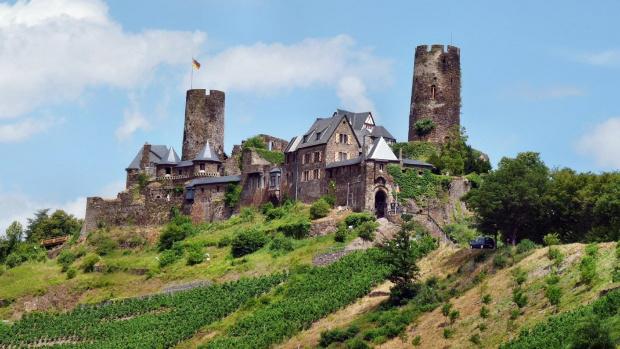 #Burg #Thurant #Alken #Zamek #Germany