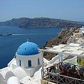 Wyspa Santorini zwana Tfira 9tak jak stolica wyspy) - dawna nazwa Kalliste czyli piękna, oceńcie czy słusznie badano jej takie miano. #Kreta #wyspa #Santorini #wyprawa #natura #mozre #ocean #zatoka #port #domy #biale #kolory #romantycznie