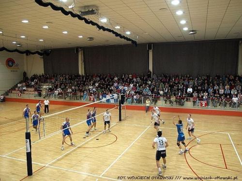 Ślepsk Suwałki - MKS MOS Będzin 3:1, I liga siatkówki mężczyzn, Hala OSiR, 30 października 2010 #ŚlepskSuwałki #MKSMOSBędzin #ILiga #siatkówka #HalaOSiR