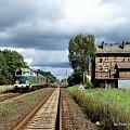 Wyjazd SU45-147 ze Stobna w dniu 19.09.2010 #kolej #SU45 #Piła #Ujście #pociąg