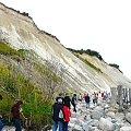 Klifowy brzeg Rugii w Arkonie, wysokość 45 m. #klif #wyspa