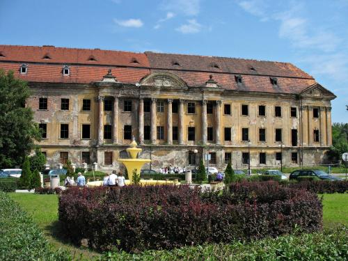 kompleks zamkowo- pałacowy Bibersteinów- Promnitzów w Żarach (zdjęcie zrobione przy okazji krótkiego pobytu w tym mieście) #Żary #zamek #ruiny