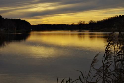 #zalew #niebo #ZachódSłońca #natura