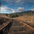 Tory... #kolej #tory #góry #krajobraz #HDR #arietiss