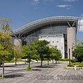 Centrum Sportowe #sport #CentrumSportowe #HaleWidowiskowe #park #budynek #budynki #Japonia #Tokio #Tokyo