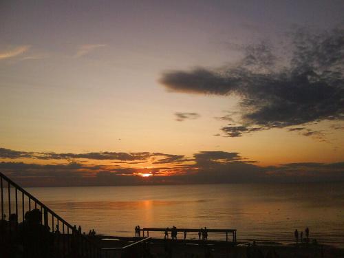 zachód słońca Międzywodzie 2009