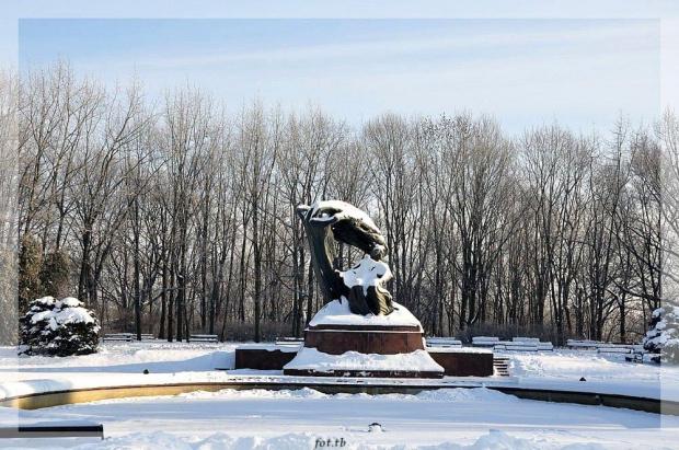 Zima w Łazienkach...