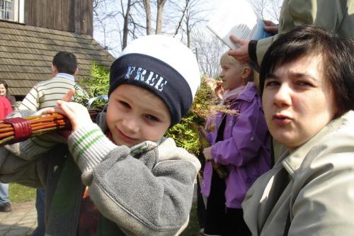 Niedziela Palmowa 2009 #NiedzielaPalmowa #StaraWieś
