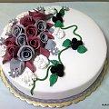 Okazjonalny torcik #tort #urodziny #firma #okazja #jeżyny