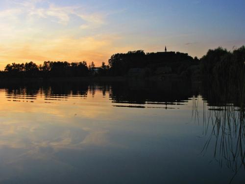 #jezioro #Lubięcin #ZachódSłońca #niebo