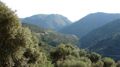 droga wysoko gdzieś w górach #KretaZachdnia #Kissamos #Paleohora #GóryLefki