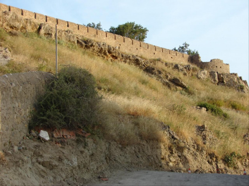 Paleohora mury obronne #KretaZachodnia #Kissamos #Paleohora #mury