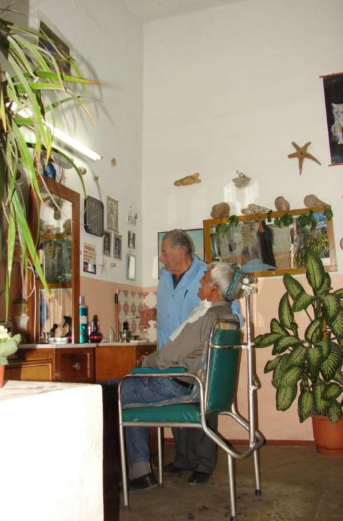 miasteczko Paleohora u fryzjera #KretaZachodnia #Paleohora