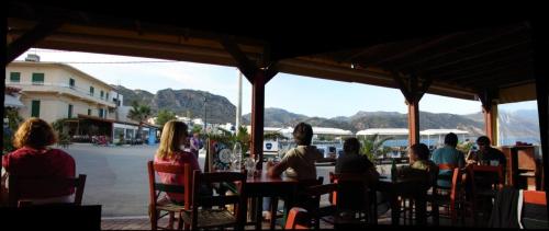 miasteczko Paleohora relaks turystów #KretaZachodnia #Paleohora