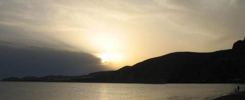Paleohora zachód słońca #KretaZachodnia #Paleohora #zachód #zatoka