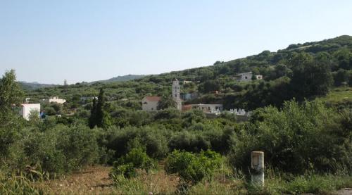 widok na miejscowość Drapanias #Paleochora #Drapanias