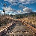 Tory... #kolej #tory #góry #krajobraz #HDR #niebo #arietiss