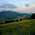bieszczadzkie klimaty #Bieszczady #góry #niebo #zmierzch