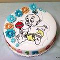 Torcik dla 1 rocznego bobasa #urodziny #tort #torty #dzidzia
