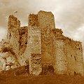 Zamek rycerski Mirów z początku XIV w. - Jura krakowsko-częstochowska #częstochowska #historia #jura #krajobraz #krakowsko #lezajsktm #Mirów #Polska #ruiny #widok #zabytki #zamek #zamki #sepia